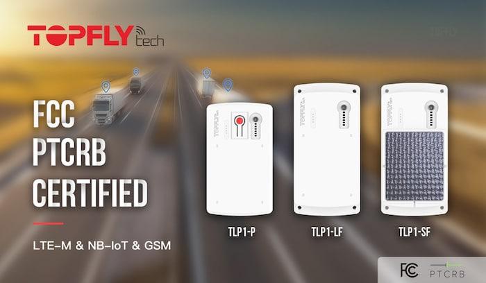 Certificación TOPFLYtech FCC y PTCRB