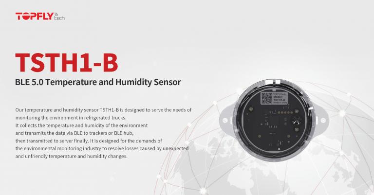 TSTH1-B | BLE 5.0 Temperature and Humidity Sensor