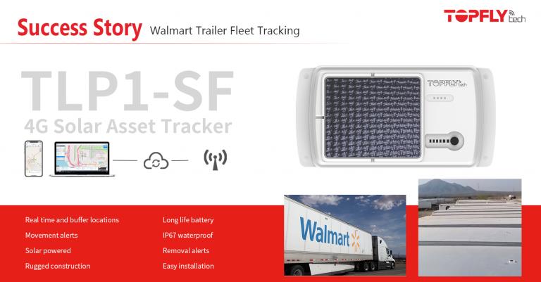 Success Story | Walmart Trailer Fleet Tracking