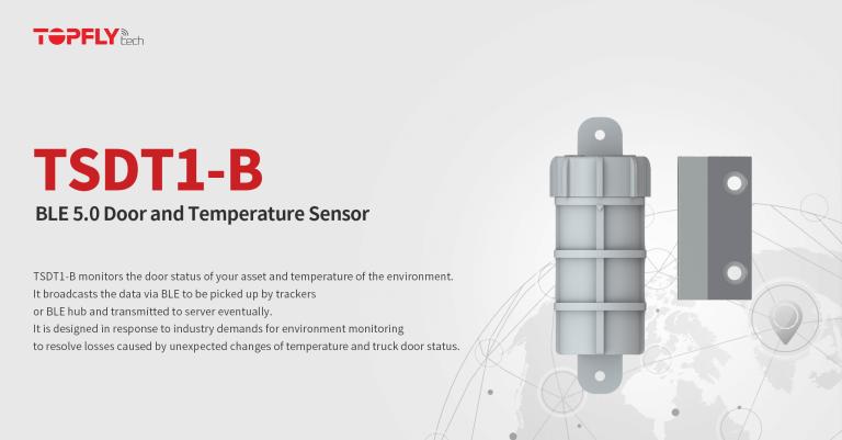 TSDT1-B   BLE Door and Temperature Sensor