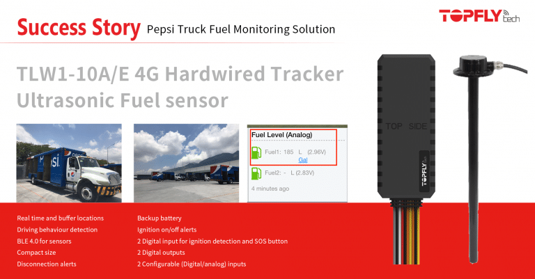 Success Story | Pepsi Fuel Monitoring Solution