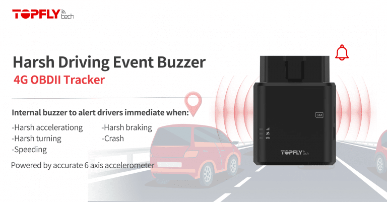 Internal Buzzer for Harsh Driving Events