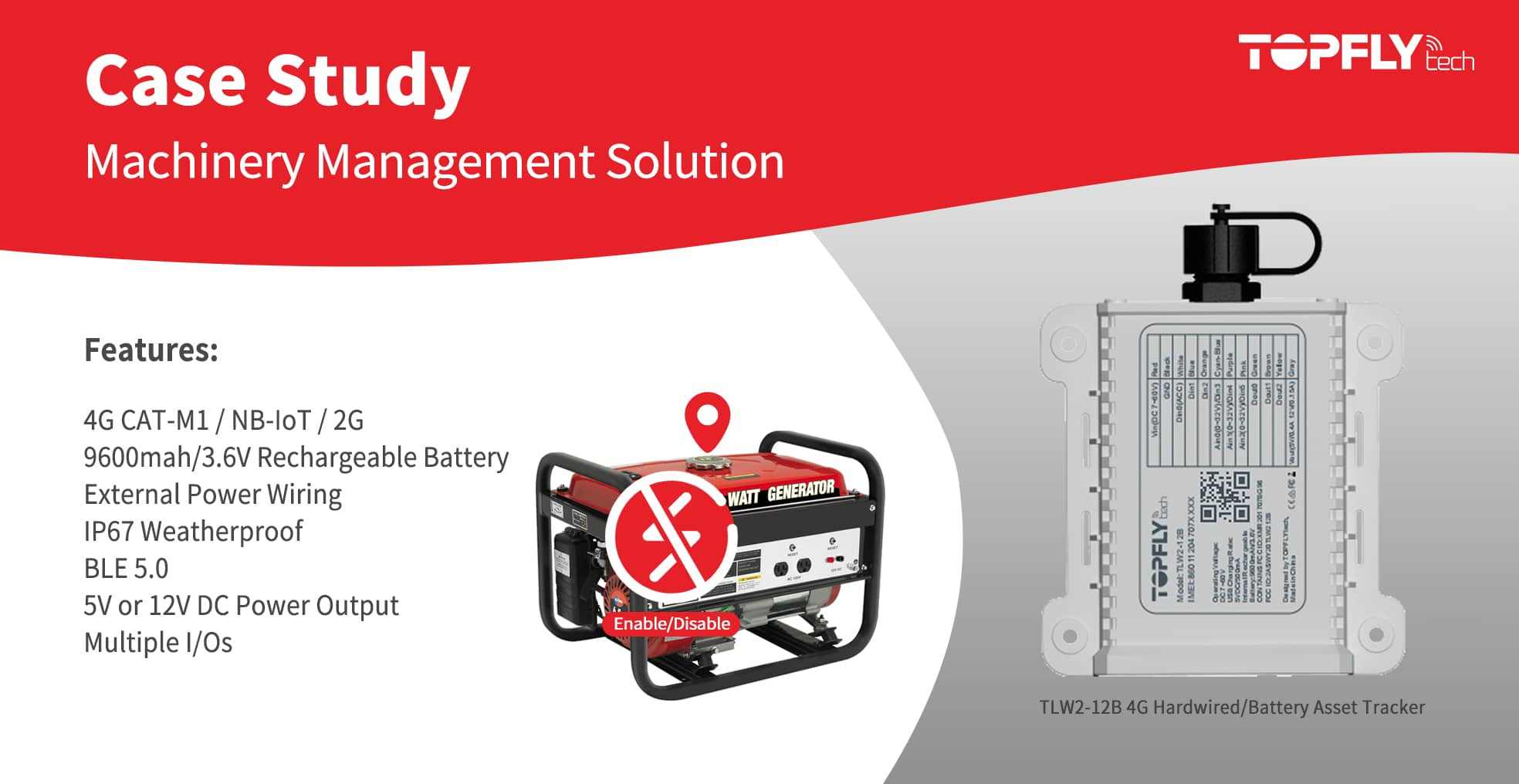 Case Study | Machinery Management Solution