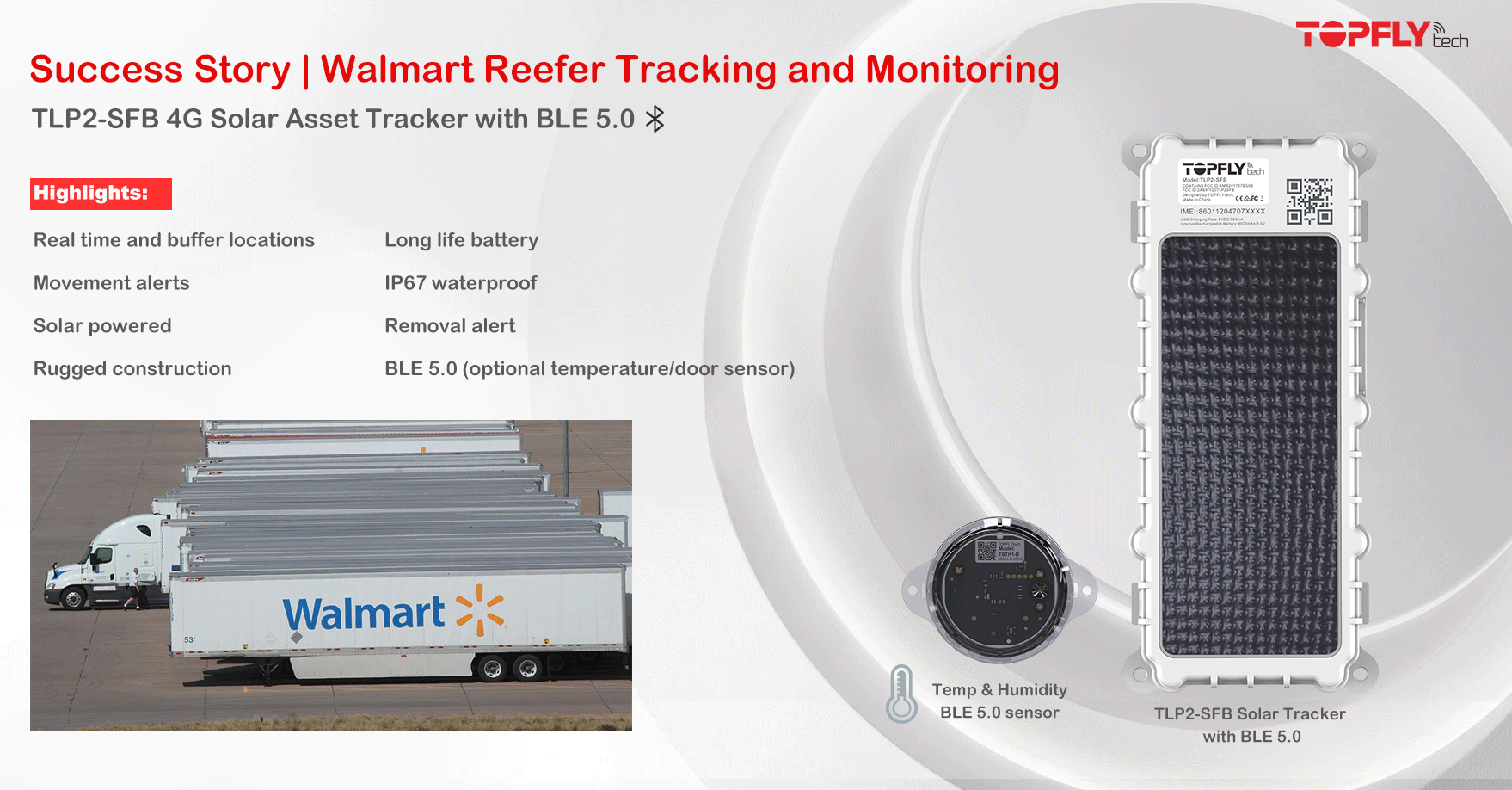 Success Story | Walmart Reefer Cold Chain Monitoring
