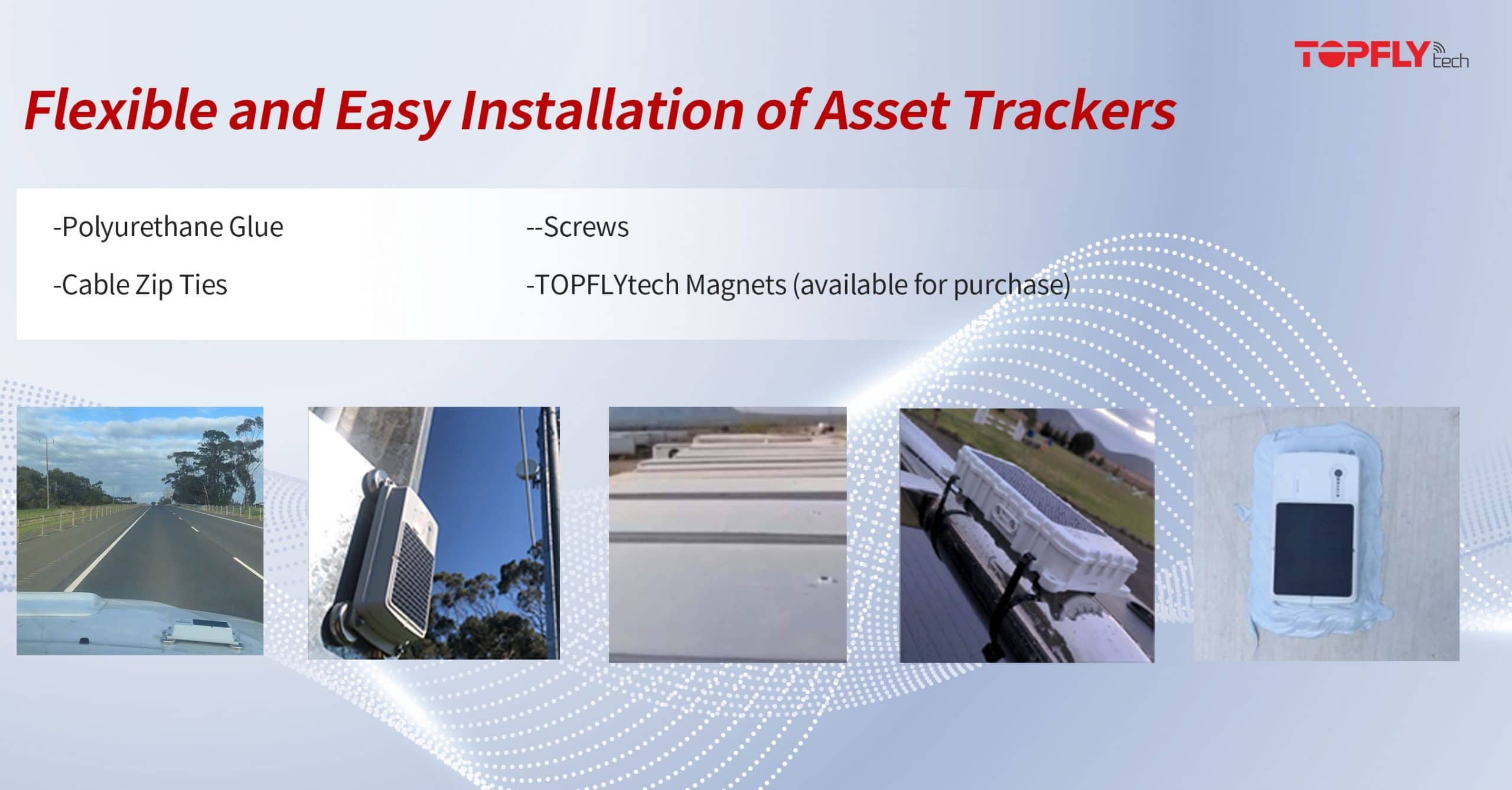 Flexible and Easy Installation of Asset Tracker